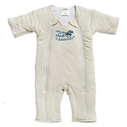 Baby Merlin Magic Sleepsuit Cotton – Cream