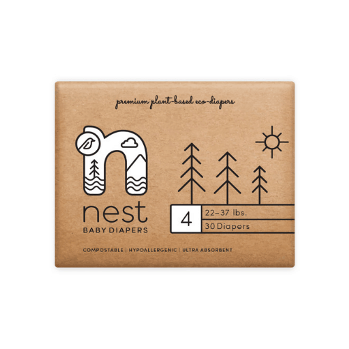 Nest Diapers – Size 4