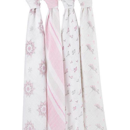 Aden + Anais Muslin Blankets 4 Pack