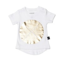 Huxbaby Circle Cross T shirt – Gold