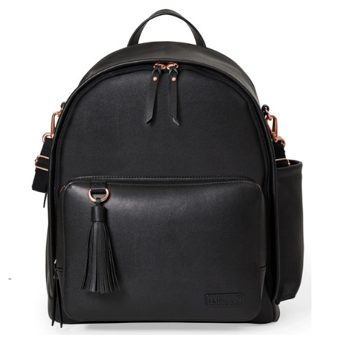Skip Hop Greenwich Simply Chic Backpack – Black